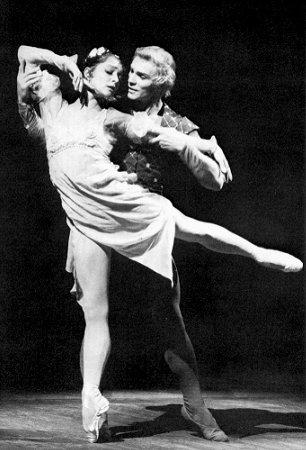 "Ekaterina Maksimova şi Vladimir Vasiliev, ""Romeo şi Julieta"""