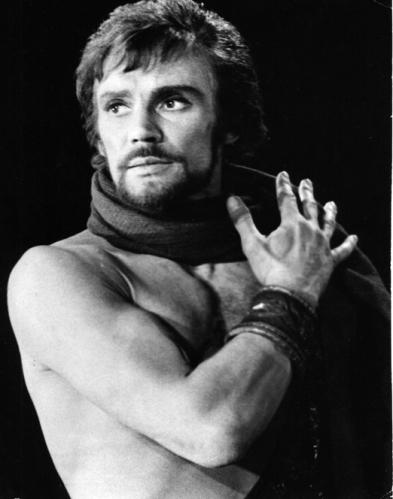 Vladimir Vasiliev într-un rol emblematic: Spartacus (foto: Elena Fetisova)